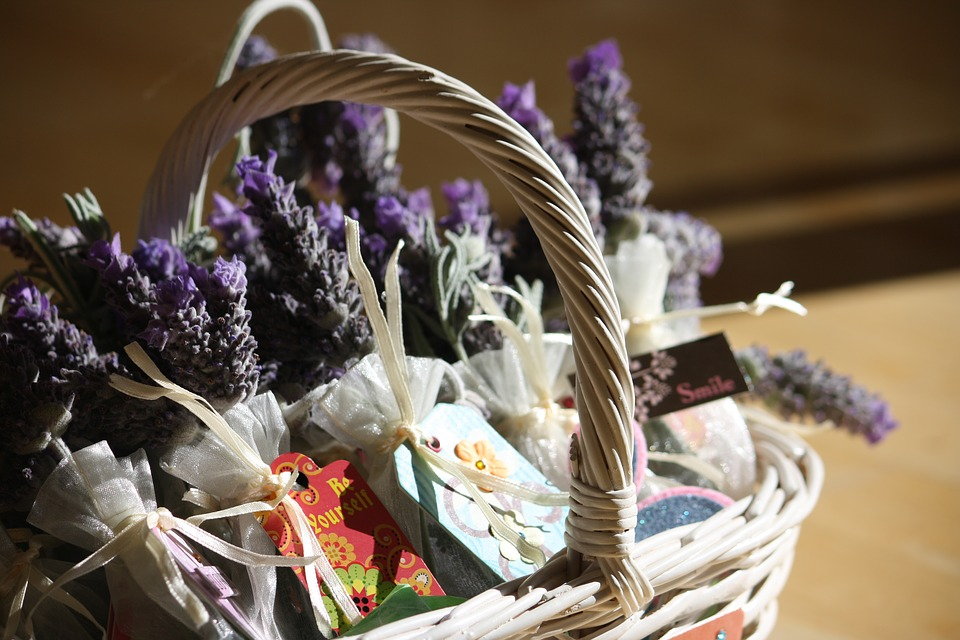 Some ideas for different gift baskets
